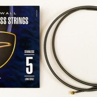 Dingwall Long-Scale F# Tuning Set  Stainless Steel - 5-String Set with F# String - Stainless Steel
