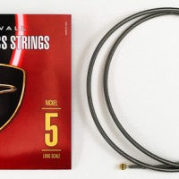 Dingwall Long-Scale F# Tuning Set Nickel - 5-String Set with F# String - Nickel Plated Steel