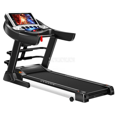 Display Screen Electric Foldable Mini Treadmill