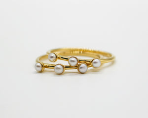 Pearl Dot Ring
