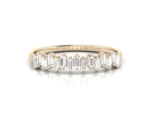 The Mini Baguette Ring