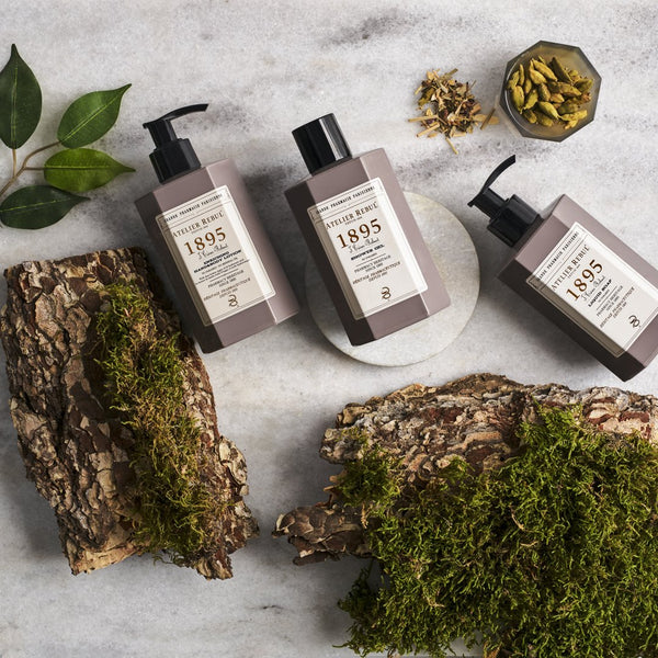 Atelier Rebul 1895 Giftset with Liquid Soap, Shower Gel and Hand & Body Lotion
