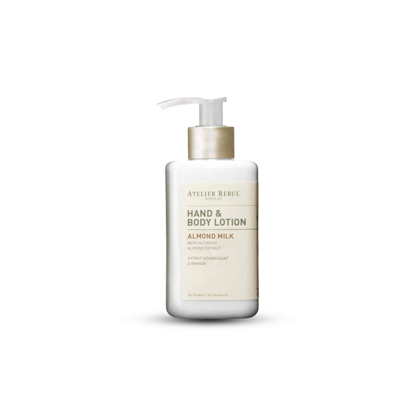 Almond Milk Hand & Body Lotion 250ml | Atelier Rebul Webshop