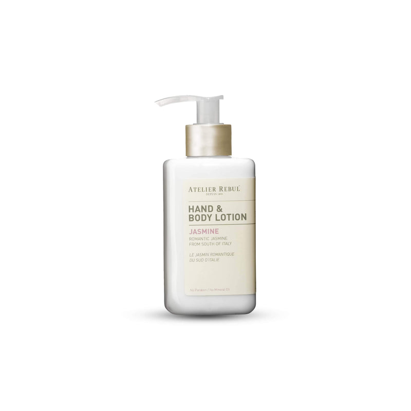 Jasmine Hand & Body Lotion 250ml | Atelier Rebul Webshop