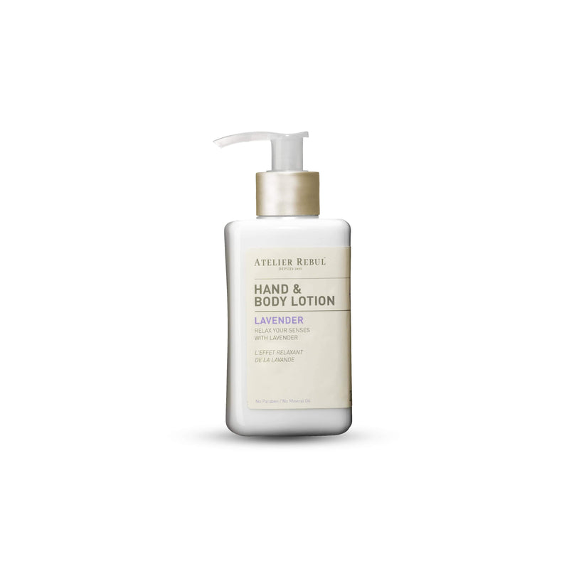 Lavender Hand & Body Lotion 250ml | Atelier Rebul Webshop