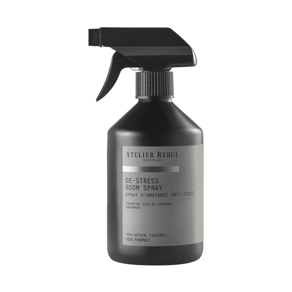 De-Stress Room Spray 500 ml | Atelier Rebul Webshop