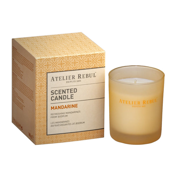 Mandarine Scented Candle 140g | Atelier Rebul Webshop