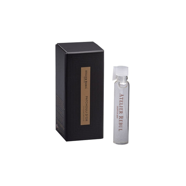 ATELIER REBUL PATCHOULI D'OR COLOGNE ABSOLUE SAMPLE 2ML