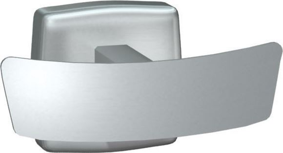 ASI 7345 Double Robe Hook with Bright or Satin Finish