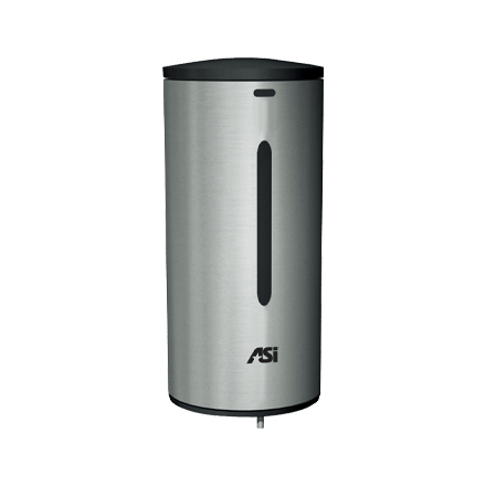 ASI 0360 Automatic, 35 oz. Stainless Steel Liquid Soap and Gel Hand Sanitizer Dispenser