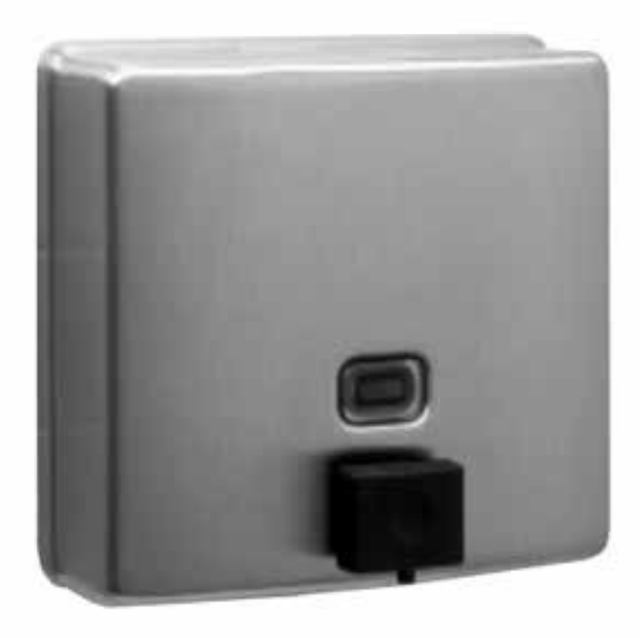 Bobrick B-4112 Surface Mounted Soap Dispenser