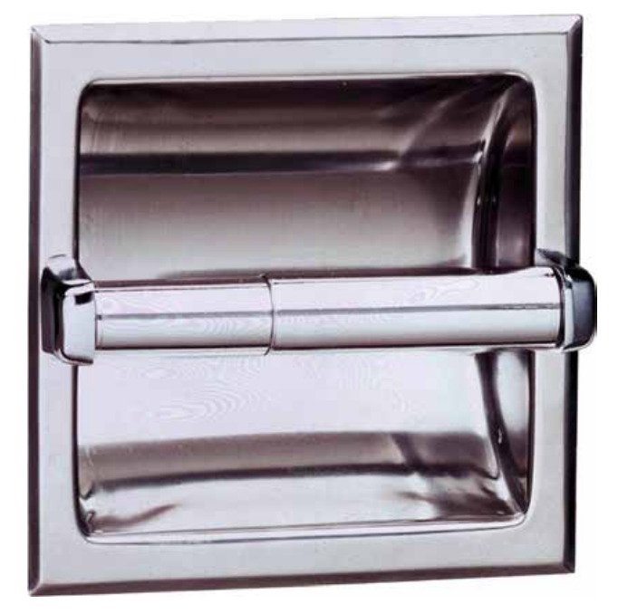 Bobrick B-667 and/or B-6677 Single Roll Toilet Paper Dispenser