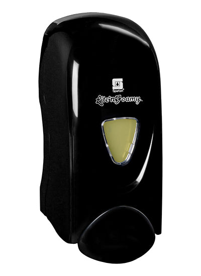 Spartan 9757 Lite'n Foamy Soap or Sanitizer Dispenser - Black