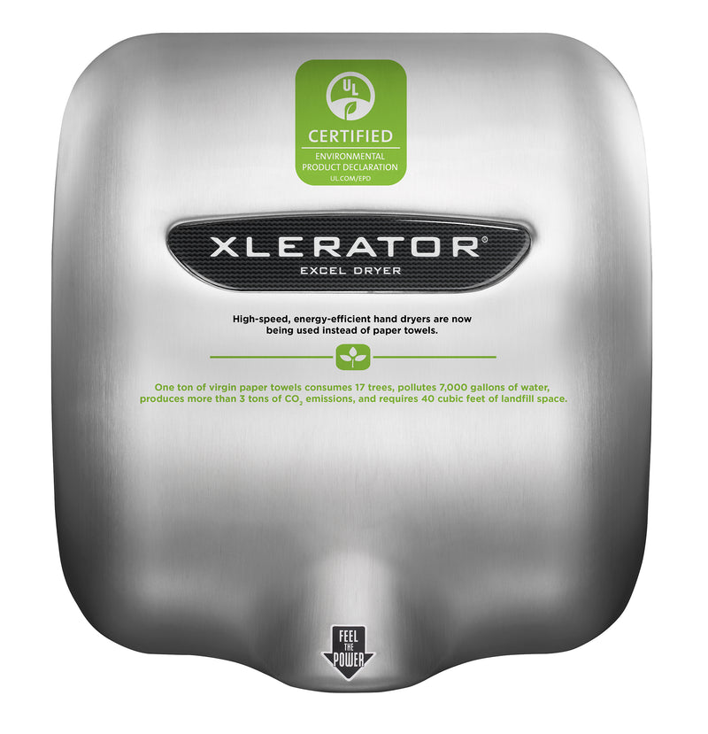 XL-SI XLERATOR® Hand Dryer with Custom Design Cover