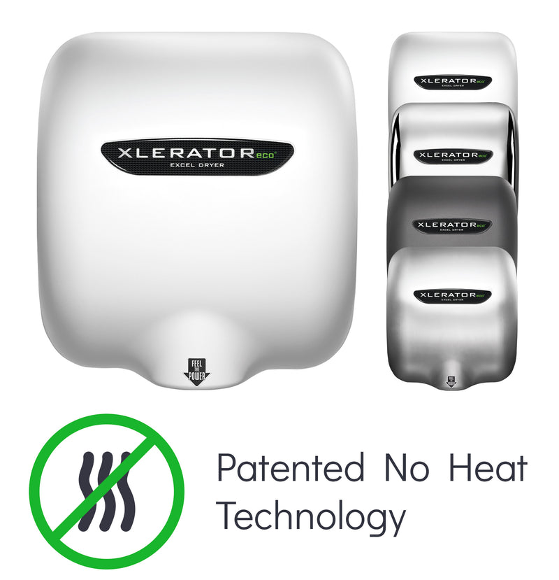 XLERATOR eco No Heat Technology Hand Dryer from Excel Dryer