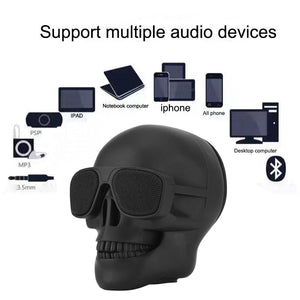 Wireless Bluetooth Skull Speaker