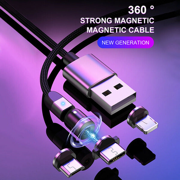 3 in 1 Magnetic Fast Charging Cable