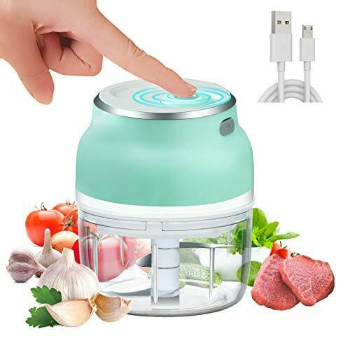 USB rechargeable mini chopper