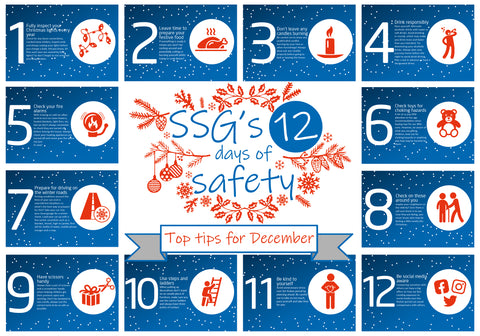 SSG's 12 days of safety poster
