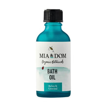 Load image into Gallery viewer, Mia & Dom Organic Bath Oil (50ml)
