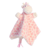 Load image into Gallery viewer, Soft Giraffe Baby Comforter - Pink