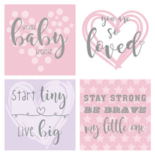 Load image into Gallery viewer, Pink/Purple Design NICU Incubator Art (Pack of 8)