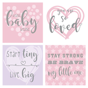 You added Pink/Purple Design NICU Incubator Art (Pack of 8) to your cart.