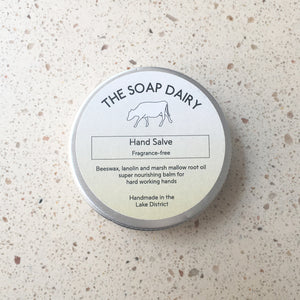 You added The Soap Dairy Hand Salve to your cart.