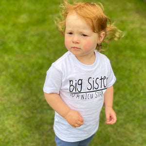 'I'm a Big Sister to a NICU Star' Kids Tshirt