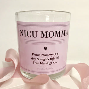 NICU Momma Scented Keepsake Candle
