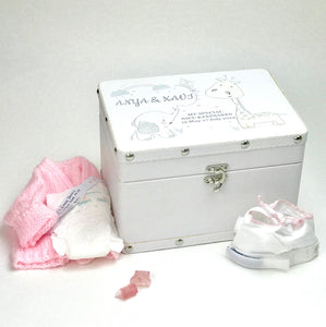You added Personalised White Animal Friends Keepsake Box to your cart.