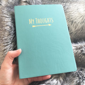 You added 'My Thoughts' Leatherette Journal to your cart.
