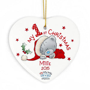 You added Me to You Heart 'My 1st Christmas' Christmas Decoration to your cart.