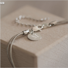 Load image into Gallery viewer, Sterling Silver Friendship Knot Bracelet