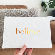 Load image into Gallery viewer, 'Believe' Supportive Hardback Gift Book