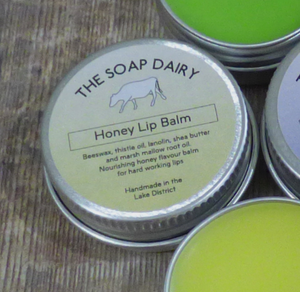 The Soap Dairy Honey Lip Balm