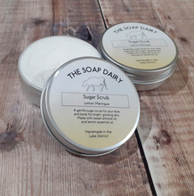 Load image into Gallery viewer, The Soap Dairy Sugar Scrub - Lemon