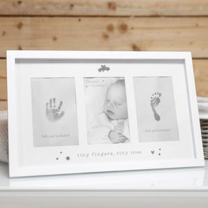 Twinkle Twinkle Baby's Hand/Footprint Photo Frame + Ink Pad