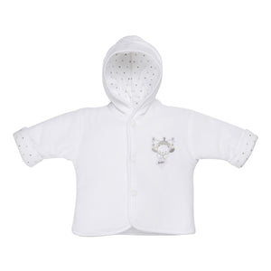 You added Tiny Baby Bear Hooded Jacket - White to your cart.