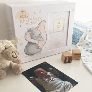 You added Disney Dumbo Magical Beginnings Keepsake Box to your cart.