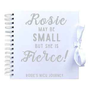 You added Small But Fierce Personalised NICU Journey Scrapbook (Kraft, White) to your cart.