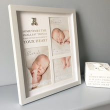 "Load image into Gallery viewer, Bambino ""Smallest Things"" Baby Photo Frame"