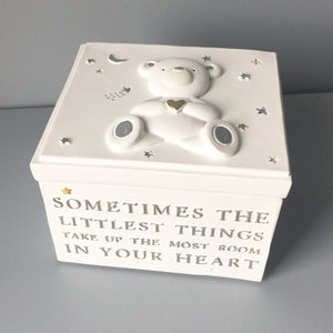 "Bambino ""Littlest Things"" Trinket Box"