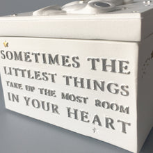 "Load image into Gallery viewer, Bambino ""Littlest Things"" Trinket Box"