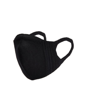 Kids 3D Knit Face Mask - Black
