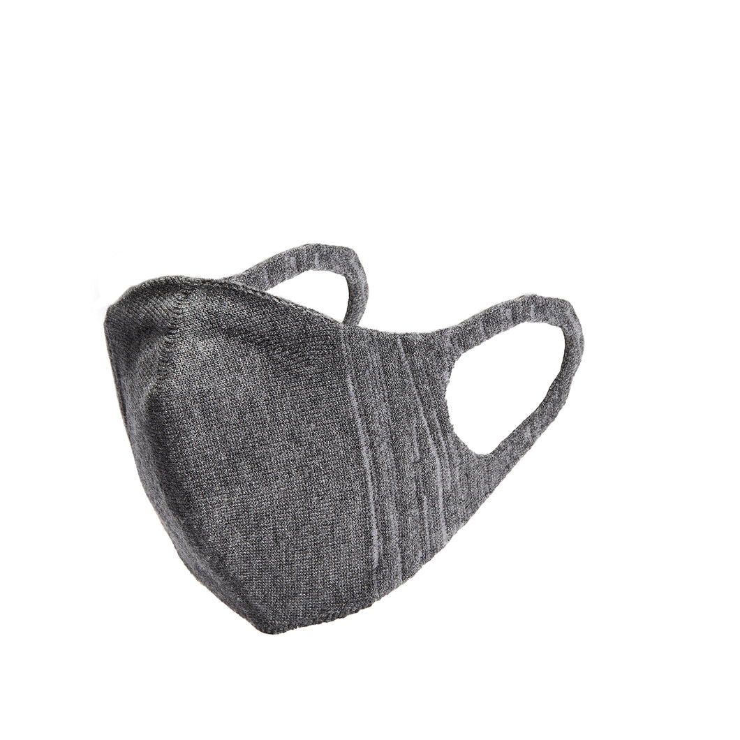 Kids 3D Knit Face Mask - Charcoal