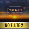 "PLAY ALONG - ""Twilight"" (3 flutes and piano) - NO FLUTE 2 - AUDIO MP3 Accompaniment - Herman Beeftink"