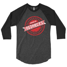 Load image into Gallery viewer, Raised By Rednecks #02 3/4 sleeve raglan shirt