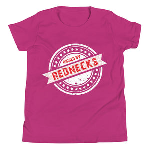 Raised By Rednecks Youth Short Sleeve T-Shirt