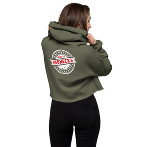 Raised by Rednecks Crop Hoodie